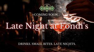 Late Night at Fondis Pizzeria